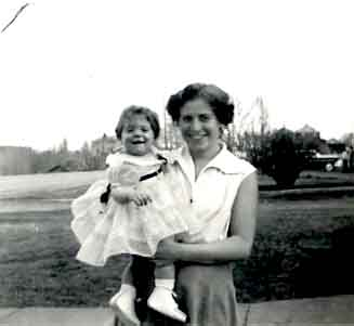 Freida and Ginny about 1955