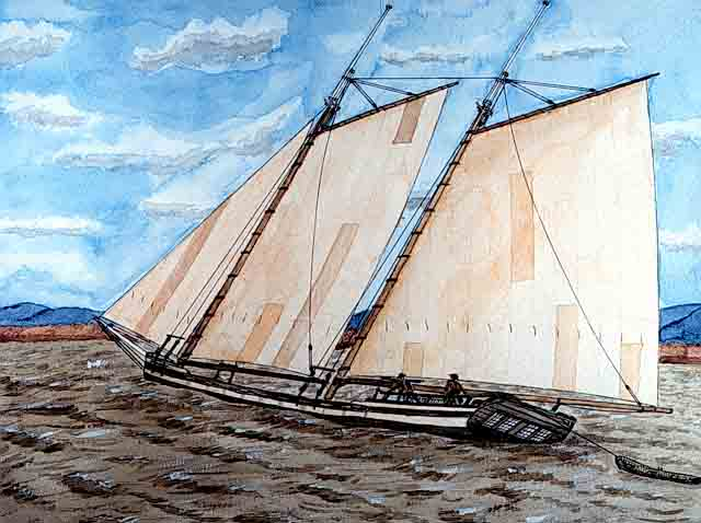 Sailing Schooner       Waterwitch picture